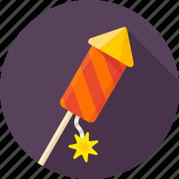 celebration, firecracker, fireworks, petard, rocket, salute, xmas icon