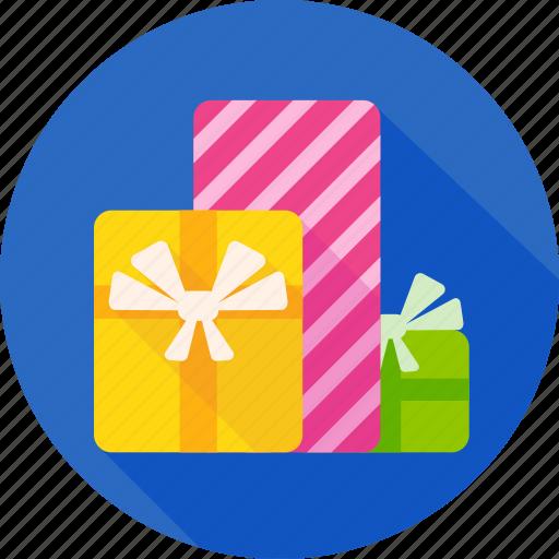 birthday, celebration, christmas, gifts, xmas icon
