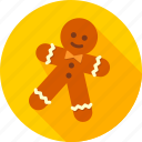 confectionery, cookie, ginger, gingerbread, sweets, xmas icon