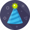 celebration, christmas, gladness, hat, party hat, xmas icon