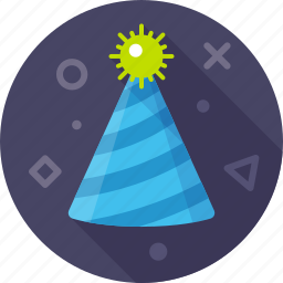 celebration, christmas, gladness, hat, party, party hat, xmas icon