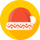 christmas, hat, headwear, new year, santa, santa hat, xmas icon