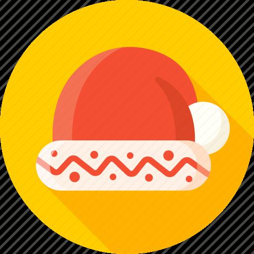 christmas, hat, headwear, new year, santa, santa hat, xmas icon