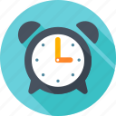 alarm, alarm clock, alert, clock, time, timer, watch icon