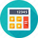 calc, calculate, calculation, calculator, education, math, mathematics icon