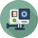 cam, camera, extreme, gopro, movie, multimedia, video icon