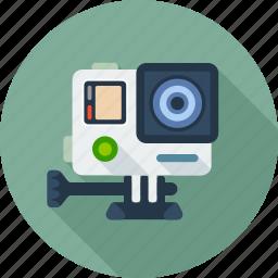 cam, camera, extreme, gopro, movie, multimedia, video icon