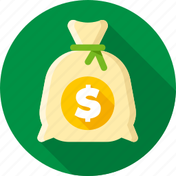 bag, bank, capital, dollars, investment, money, saving icon