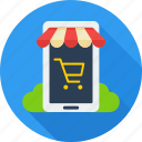 business, ecommerce, market, mobile, network, shop, web store icon