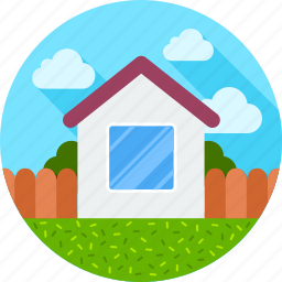 building, comfort, estate, home, house, villa, welcome icon