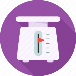 balance, culinary, household, law, scale, scales, weight icon