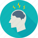brain, brainstorming, budget idea, bulb, business, business idea, creative icon