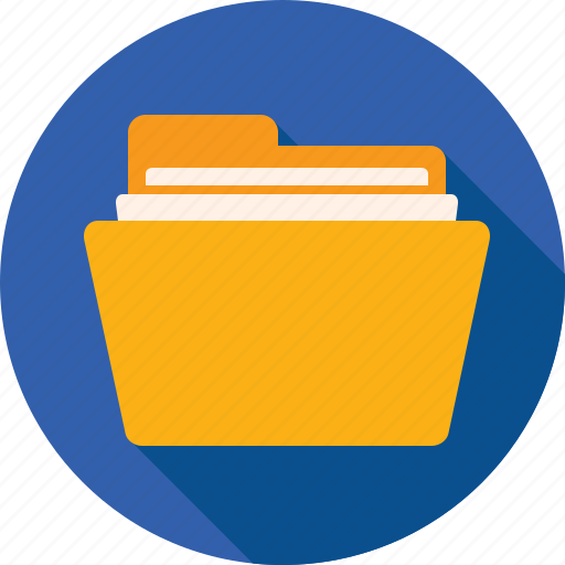 Directory, folder, documents, files, yellow, paper icon - Download on Iconfinder