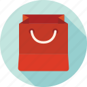 bag, package, shopping, store, paper bag, shopping bag icon