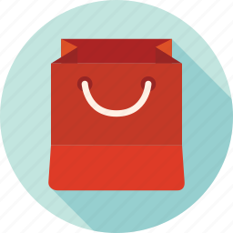 bag, package, paper bag, shopping, shopping bag, store icon
