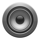 enceinte, gray icon