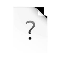 fichier, inconnu icon