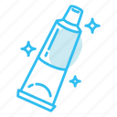 hygiene, medicine, toothpaste, tube icon