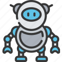 artificial intelligence, machine learning, ml, robot icon