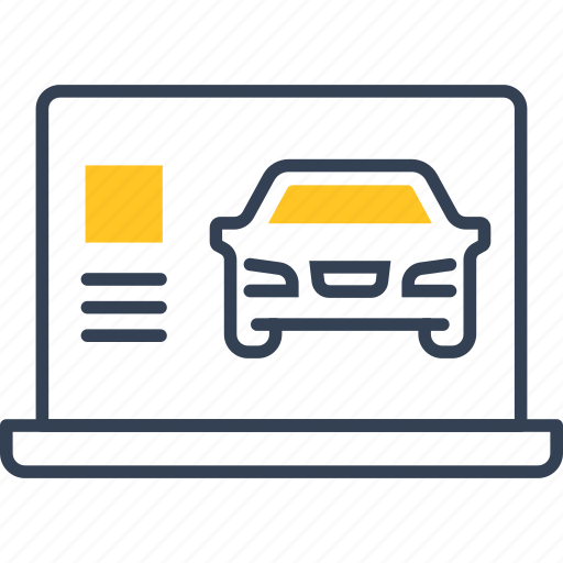 auto, card, service, transport icon