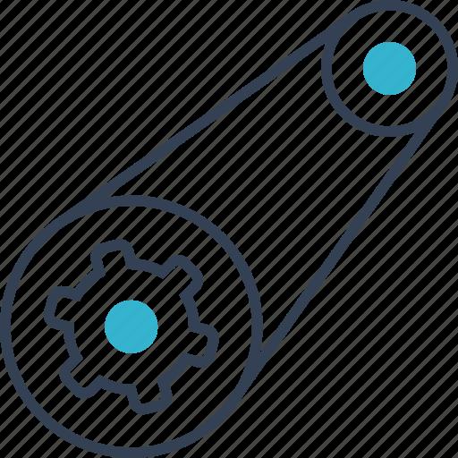 Auto, detail, service icon