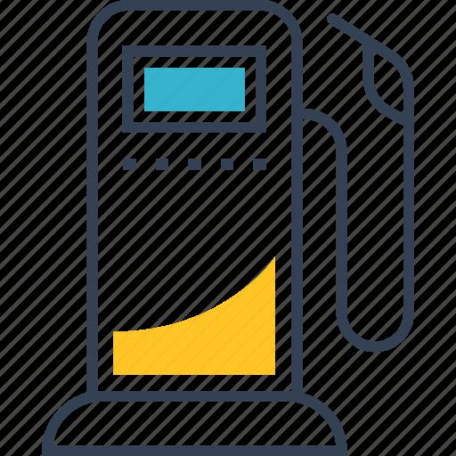 auto, gasoline, service icon