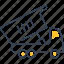 auto, service, truck icon