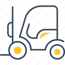 auto, industry, service, trucking icon