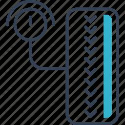 auto, pump, service, wheel icon