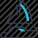 auto, service, swim, yacht icon