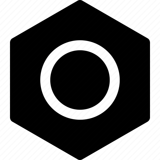 bolt, hardware, head bolt, nut, repair icon icon