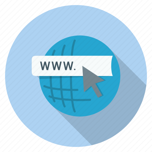 cursor, domain, global, internet, url, web icon