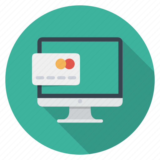 card, cash, credit card, money, monitor, pay, payment icon