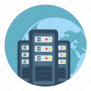 hd, internet, server, storage, vds, vps icon