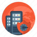 hd, safe, server, storage, vds, vps icon