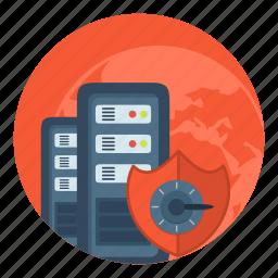 hd, safe, server, storage, vds, vps icon