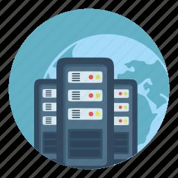 hd, internet, server, storage, vds, vps icon