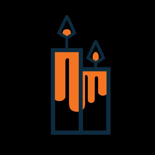 candles, magic icon