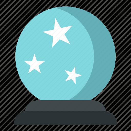 ball, crystal, future, glass, magic, sphere, wizard icon