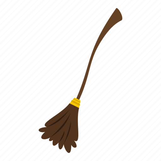 broom, broomstick, brush, fantasy, halloween, holiday, witch icon