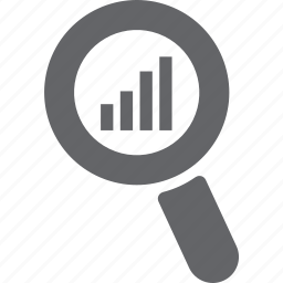 glass, magnifier, mobile, search, signal, tower, zoom icon