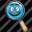 emoji, glass, magnifying, marketing, optimization, search, seo icon