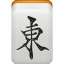 east, mahjong, wind icon