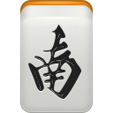 mahjong, south, wind icon