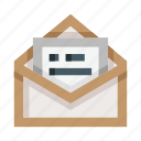 mail, letter, envelope, open, read, email, message