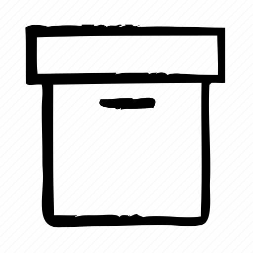 archive, box, documents, office, storage icon