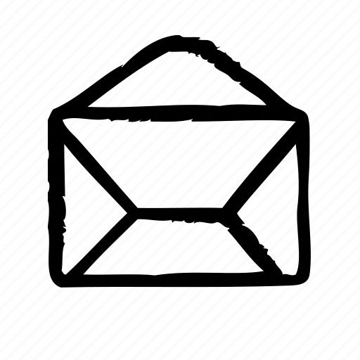 envelope, interface, mail, office, open, ui, user icon