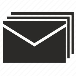 email, emails, letter, letters, mail icon