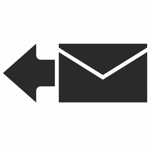 email, last, mail, mailbox, previous icon