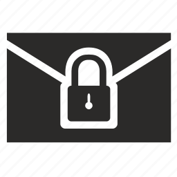 email, letter, locked, mail, password, security icon